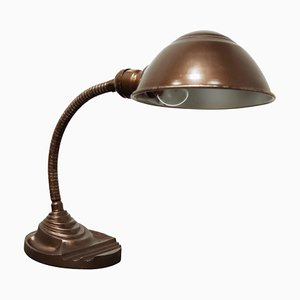 Art Deco Tischlampe mit Schwanenhals von Eagle, 1950er