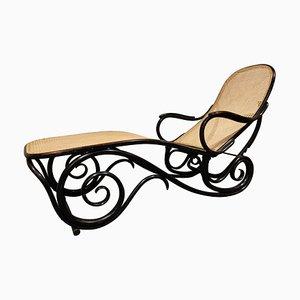 Chaise longue nr. 9702 antica di Michael Thonet per Thonet, anni '20
