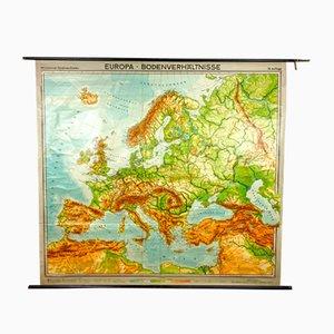 Mappa vintage dell'Europa