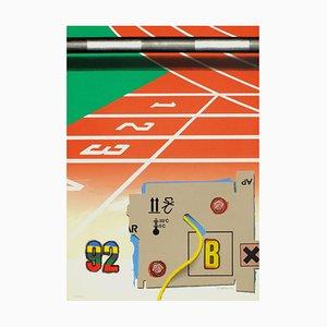 Peter Klasen, Barcelona Olympics Print, 1992