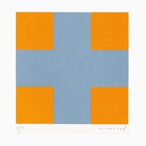 Aurélie Nemours, Une croix pour quatre carrés