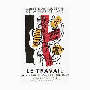 Poster Expo 51, Musée d'Art Moderne de la Ville de Paris, Fernand Leger