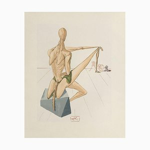 Salvador Dali, Göttliche Komödie Hell 05 - Minos