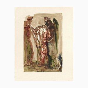 Salvador Dali, Divine Comedy Fegefeuer 11 - The Proud
