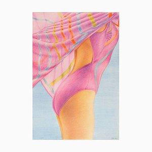 John Kacere, Purple Swimmer, Barcelona Olympics Poster