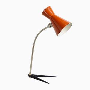 Lampada da tavolo marrone