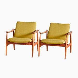 Modell 138 Armlehnstuhl aus Teak von Finn Juhl