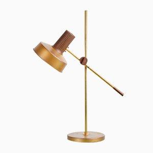 Lampe de Bureau en Laiton Colorée