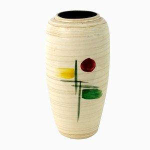Vase mit Abstraktem Muster