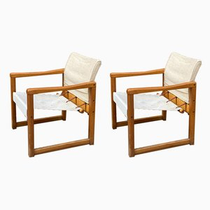 Vintage Swedish Lounge Chairs by Karin Mobring for Ikea, 1970s, Set of 2