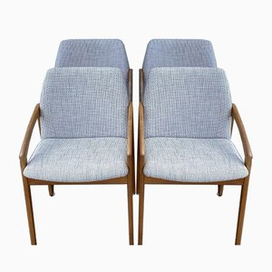 Mid-Century Model 23 Dining Chairs by Henning Kjærnulf for Korup Stolefabrik, Set of 4