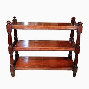 Antique Mahogany Etagere / Sideboard