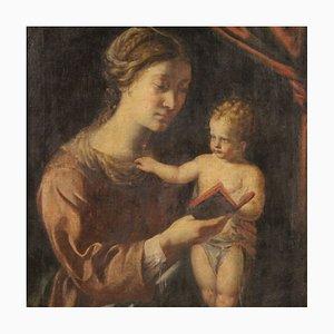 Lecture de Vierge avec Enfant, 18ème Siècle