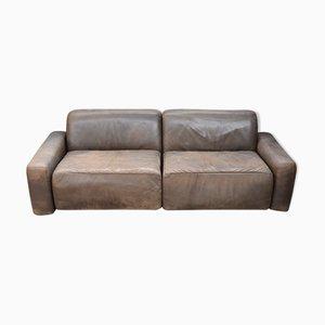 Leather Sofa, 1980s