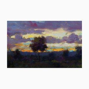 Renato Criscuolo, Dawn, óleo sobre lienzo