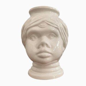 Glass Vase from Scheurich, 1970s