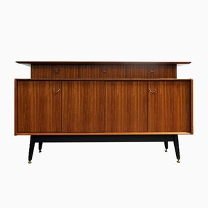 British Sideboard on Ebonized Legs from E Gomme / G-Plan, 1950s