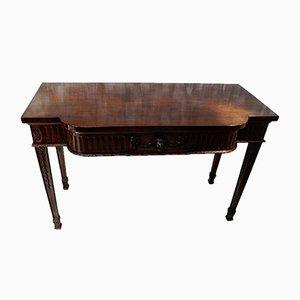 Victorian Mahogany Serving Table