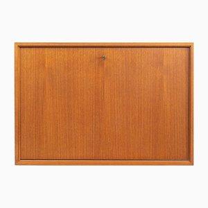 Mueble de pared modular de teca, años 60