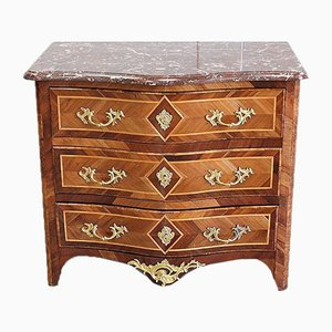 Small Louis XIV Style Wooden Chest of Drawers