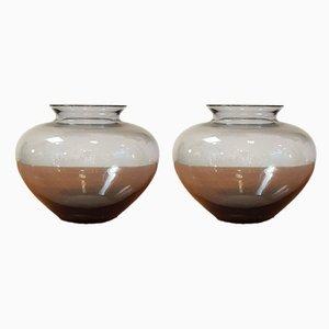 Vintage Herz Vasen von Wilhelm Wagenfeld für WMF, 2er Set