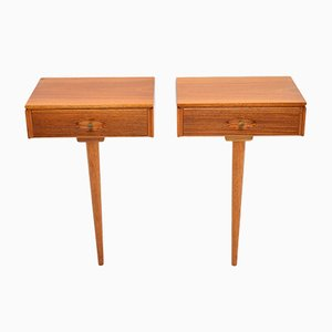 Vintage Hamilton Wall Mounting Nightstands by Robert Heritage for Archie Shine, 1960s