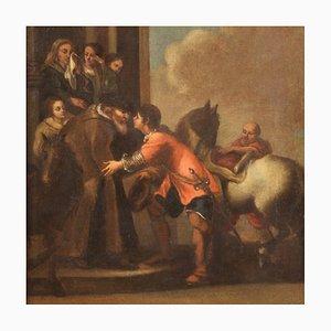 Le Départ du Fils Prodigue, Ecole Italienne, 18ème Siècle