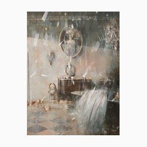 Mischtechnik auf Leinwand, interno di palazzo Veneziano, Giampietro Cavedon