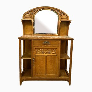 Antique Art Nouveau Buffet in the Style of Gauthier & Poinsignon, 1900s