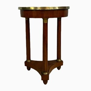 Empire Period Mahogany Pedestal Table, 1810s