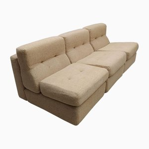 Turinese Beige 12-Module Sofa by Avriletti, 1970s, Set of 12