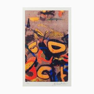John Chamberlain, Bozo, 1990, Silkscreen On Paper