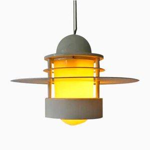 Lampada da soffitto di Jens Møller Jensen per Louis Poulsen, anni '60