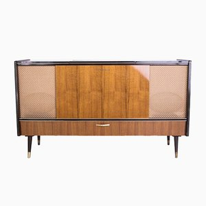 Mobile Stereo Sideboard from Grundig, 1970s
