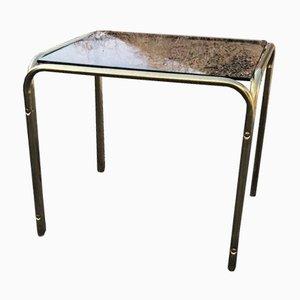 Table Basse Vintage en Laiton, 1970s
