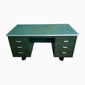 Army Green Desk from Blerk, 1960s