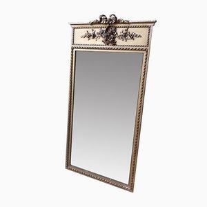 Antiker Trumeau Spiegel im Louis XV Stil