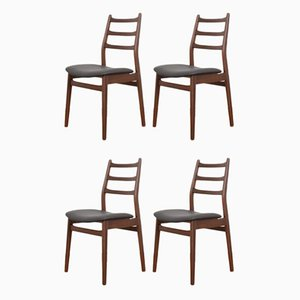 German Teak Dining Chairs from Casala, 1960s, Set of 4