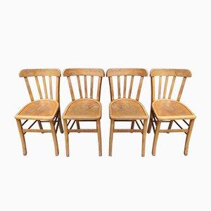 Sedie da pranzo, anni '50, set di 4