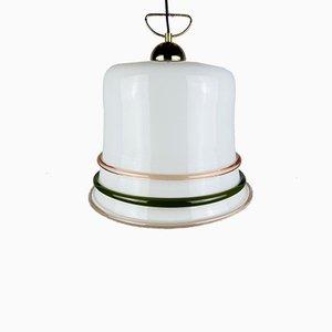 Italienische Vintage Murano Glas Deckenlampe, 1970er