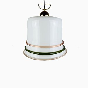 Vintage Italian Murano Glass Ceiling Lamp, 1970s