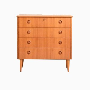 Vintage Scandinavian Chest of Drawers, 1960s