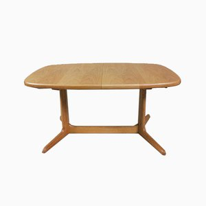 Danish Oak Extendable Dining Table from Skovby, 1970s