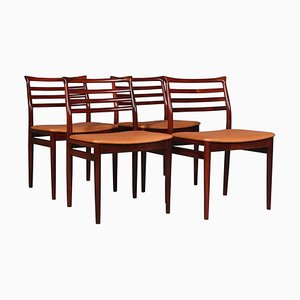 Chaises de Salon par Erling Torvits, Set de 6