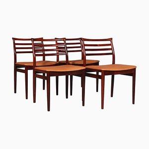 Sedie da pranzo di Erling Torvits, set di 6