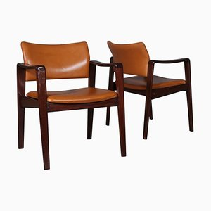 Armchairs by Arne Wahl Iversen, Set of 2