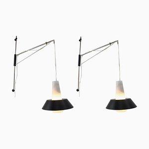 Wall Lamps by Josef Hejtman, 1970s, Set of 2