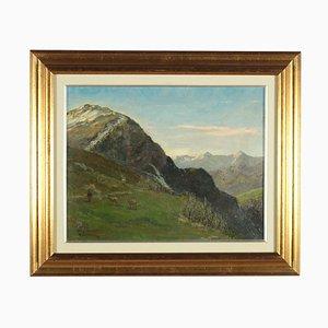 Giuseppe Valsecchi, Oil Canvas