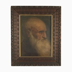 Portrait d'un Homme, Toile à Huile
