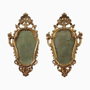Specchierine Barocchette Lombarde, set di 2